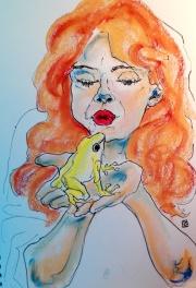 Besando ranas
