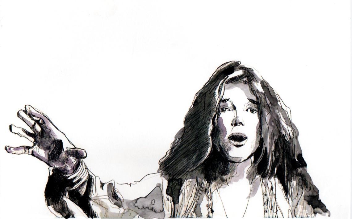 Janis Joplin – Francesco Scavullo